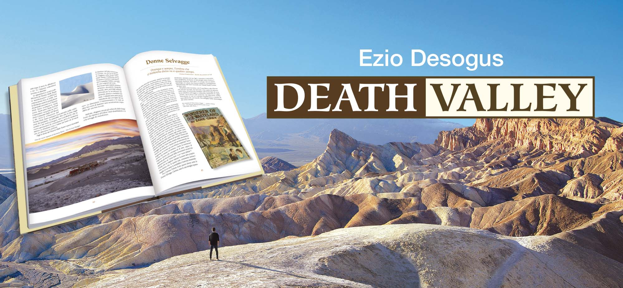 death valley libro valle della morte zabriskie point