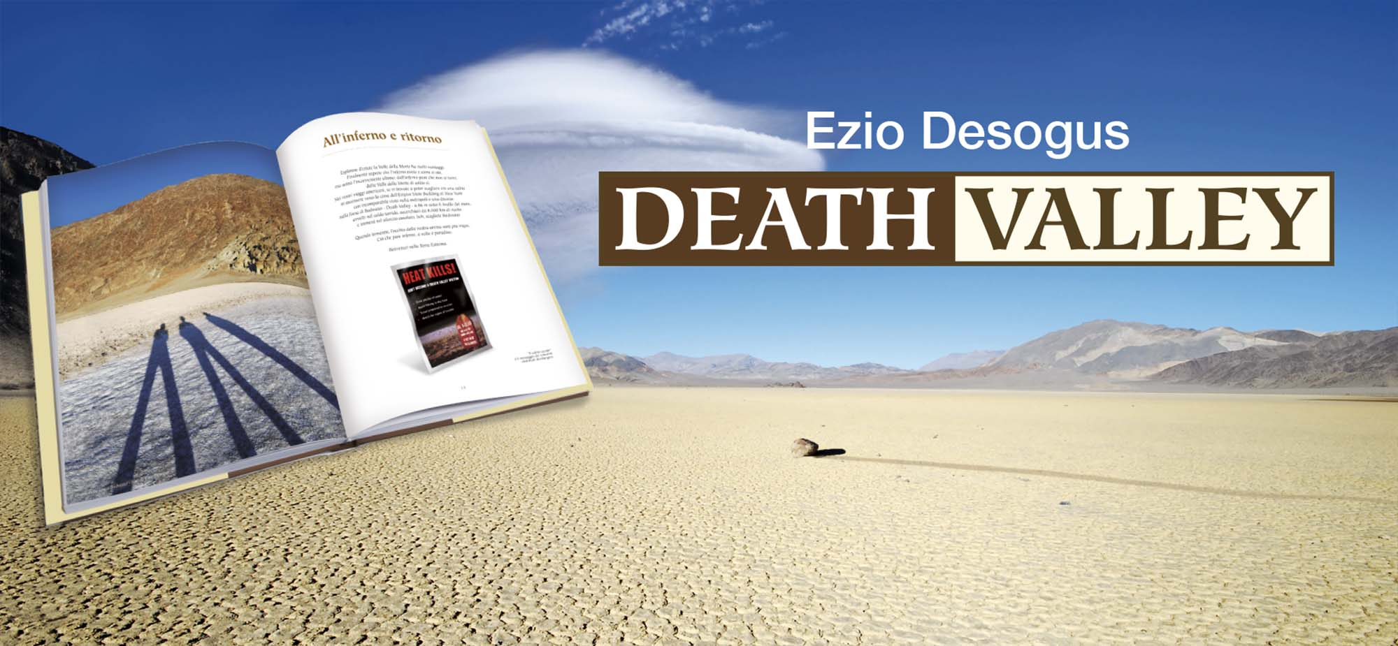 death valley libro valle della morte libro race track playa