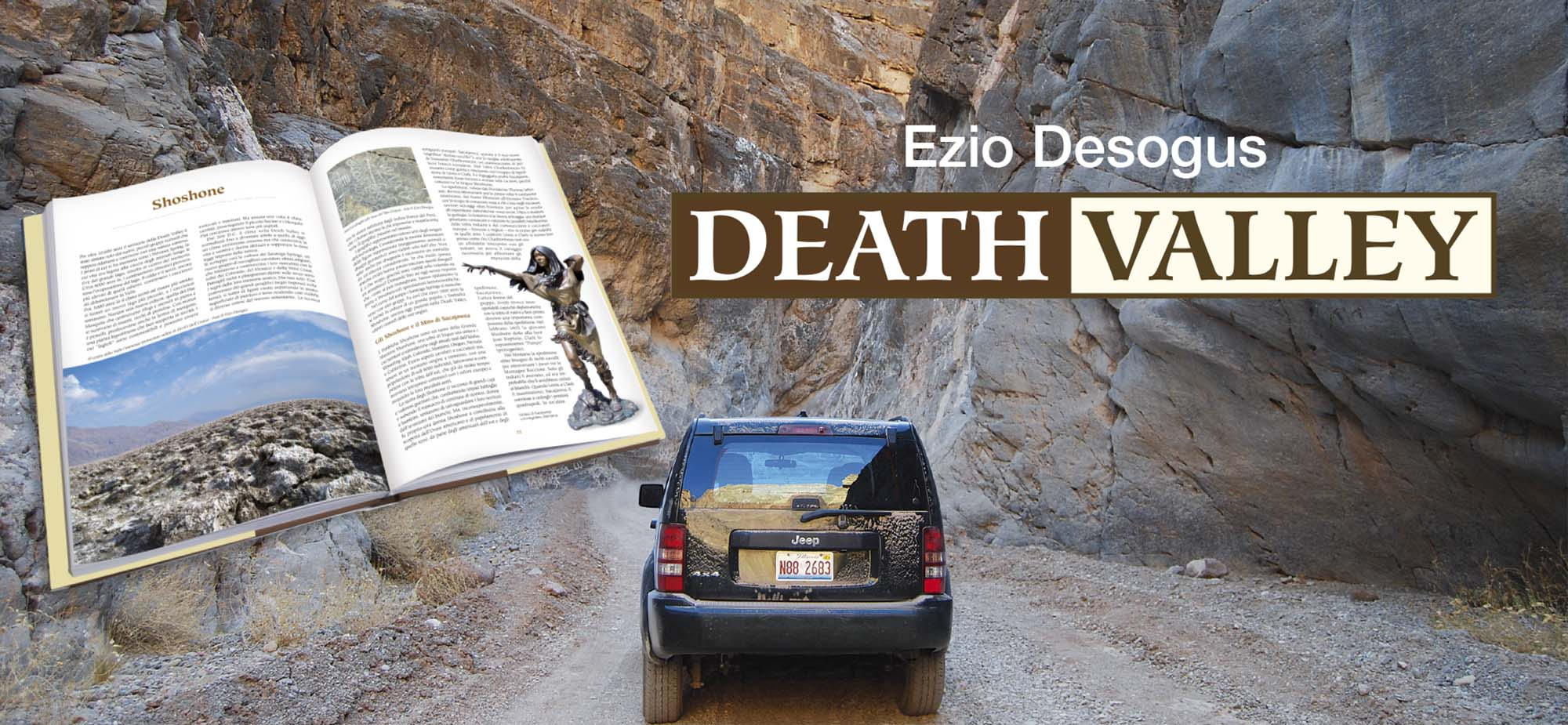 death valley libro valle della morte titus canyon offroad